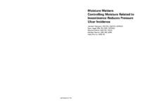 Moisture Matters Case Study